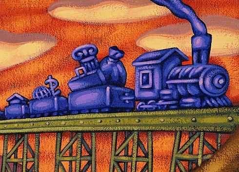 Místo ruské železnice do Vídně evropská do Kyjeva?