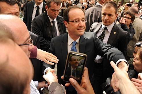 Mitterandův dědic Hollande