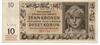 Desetikorunová bankovka, rok 1942