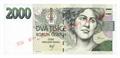 Dvoutisícikorunová bankovka, rok 1999
