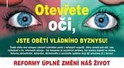 Než vám vláda zatlačí oči! Odbory varují před horory