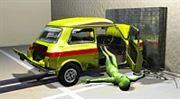 Tvrdý oříšek pro nová auta: testy bezpečnosti zpřísňují