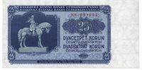 25 Kčs rok 1953