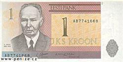 Estonská koruna