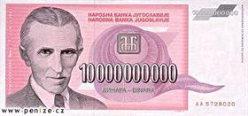 Nikola Tesla, deset miliard dinárů