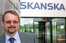 Dan Ťok, gnereální ředitel Skansky v Česku a na Slovensku