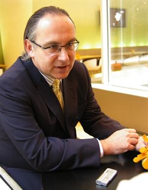 Generální ředitel Raiffeisenbank Lubor Žalman