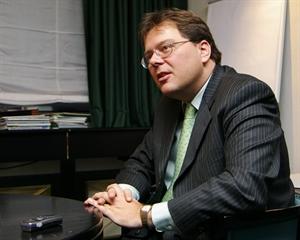Generální ředitel České spořitelny Gernot Mittendorfer