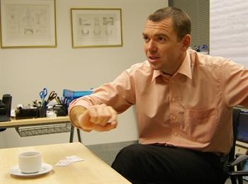 Předseda AKAT ČR Josef Beneš
