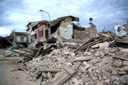 Zemětřesení v Itálie