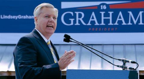 Lindsey Graham: Zničit Randa Paula