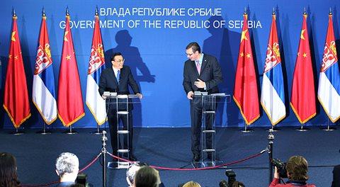 Čína uspořádala v Bělehradu sjezd své části Evropy. Česko taky jelo
