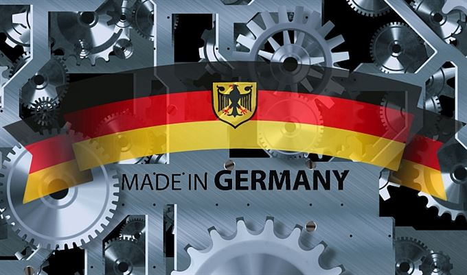 Německá ekonomika über alles