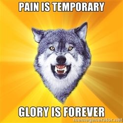 Kurážný vlk