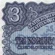 Zvolte nejkrásnější bankovku: Tříkorunová rarita
