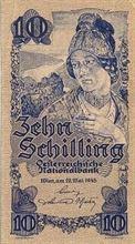 Rakouský šilink 10