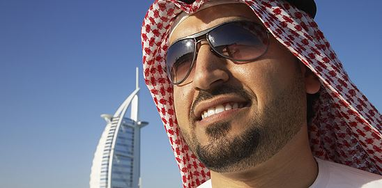 Dubajská odvaha za cizí peníze