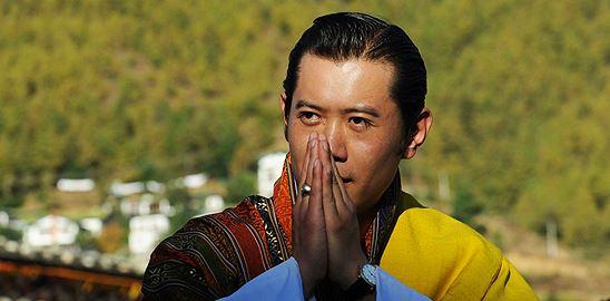 Hrubé národní štěstí po bhútánsku