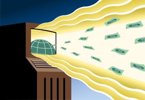 Moderní tisknutí peněz