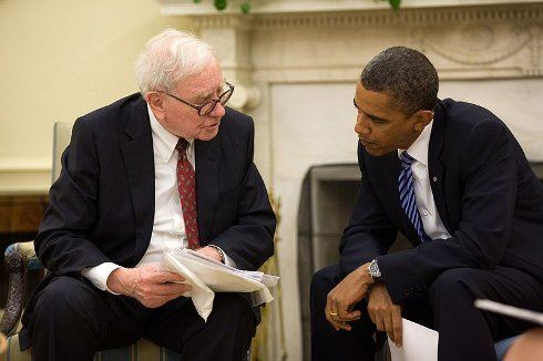 Buffette, sklapni!