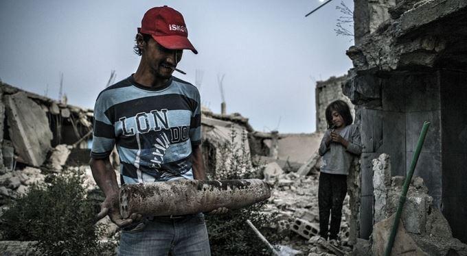 Reportáž psaná v ruinách po Islámském státu