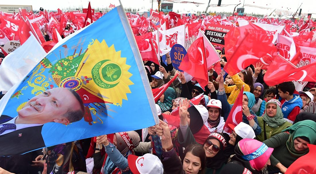Turecko v předvečer referenda