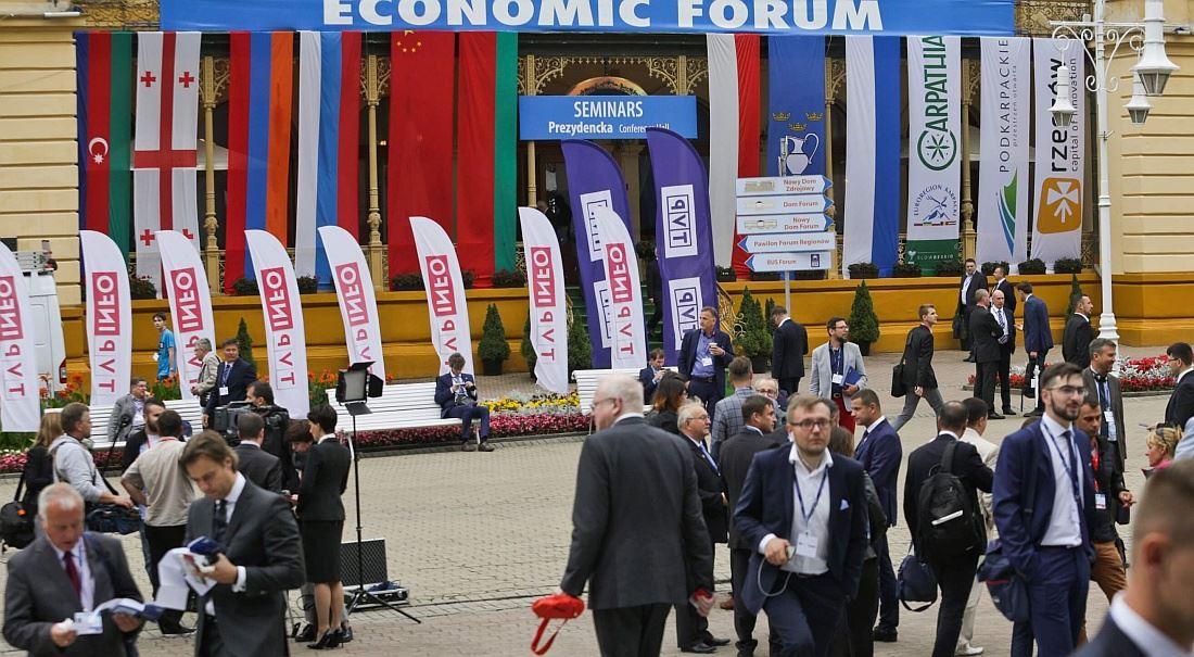 Finmag na mezinárodním Ekonomickém fóru v polské Krynici