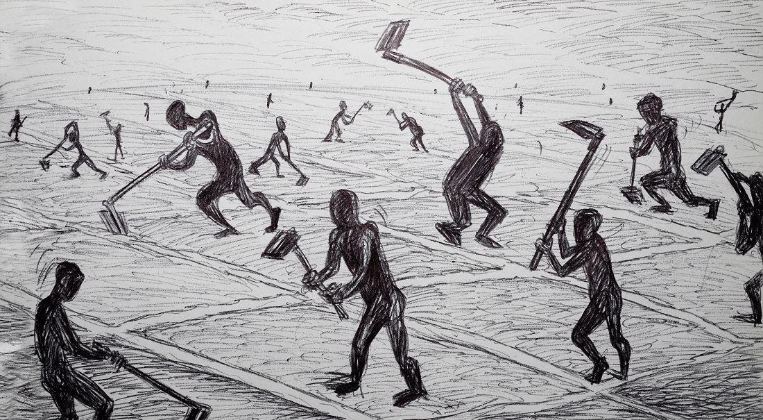 I otrokáři dávali lidem práci