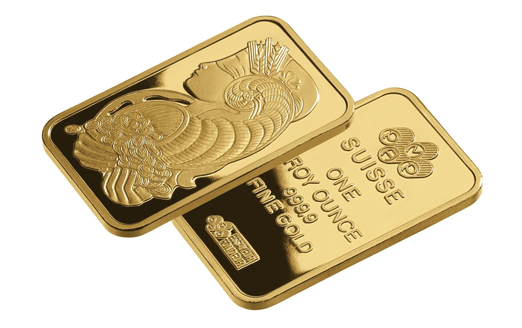 af711388181f Jak poznat investiční zlato  Na obrázku jsou zlaté ...