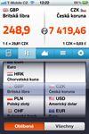 Mobilní aplikace - Kurzy měn