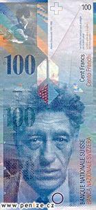 Švýcarský frank 100
