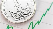 Koruna prolomila 25,20 za euro, je nejsilnější od února 2018