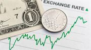 Koruna je k dolaru nejsilnější za poslední dva roky
