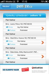 Mobilní aplikace Obchodní rejstříik
