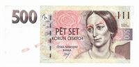 Pětisetkorunová bankovka, rok 1997