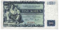 Tisícikorunová bankovka, rok 1934
