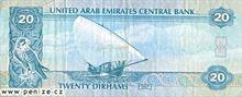 Spojených arabských emirátů dirham 20