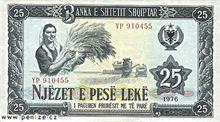 Albánský Lek 25