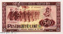 Albánský Lek 50