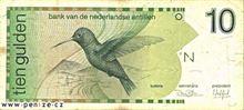 Nizozemsko-antilský gulden 10