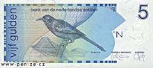 Nizozemsko-antilský gulden 5