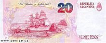 Argentinské peso 20