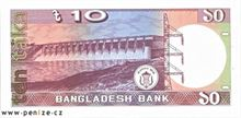 Bangladéšská taka 10