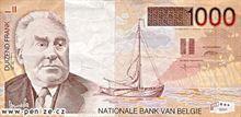 Belgický frank 1000
