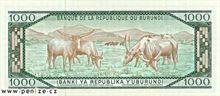 Burundský frank 1000