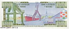 Burundský frank 5000