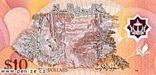 Brunejský dolar 10