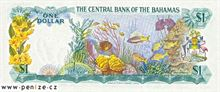 Bahamský dolar 1