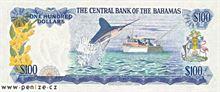 Bahamský dolar 100