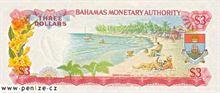Bahamský dolar 3